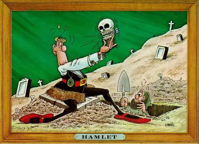 Death and corruption in hamlet essay