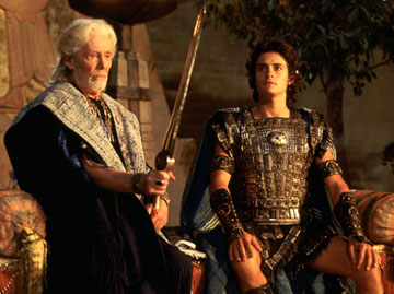 troy and the iliad My video of the movie troy (2004)based on homer's iliad, directed by wolfgang petersen, featuring brad pitt, eric bana, julian glover and orlando bloom i.